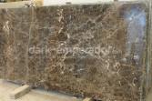 Dark Emperador marble slabs